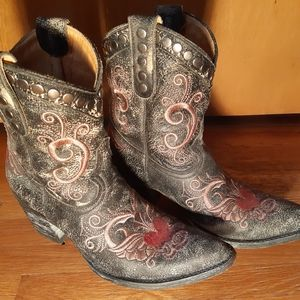 Old Gringo Leather Cowgirl Boots size 7.5